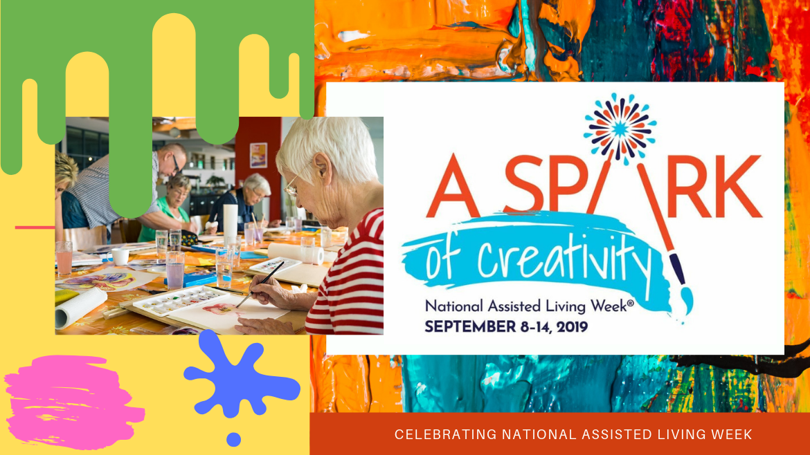 Get Creative for National Assisted Living Week