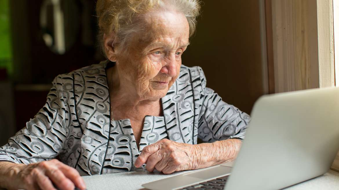The Technology That Lessens Depression in Lonely Seniors
